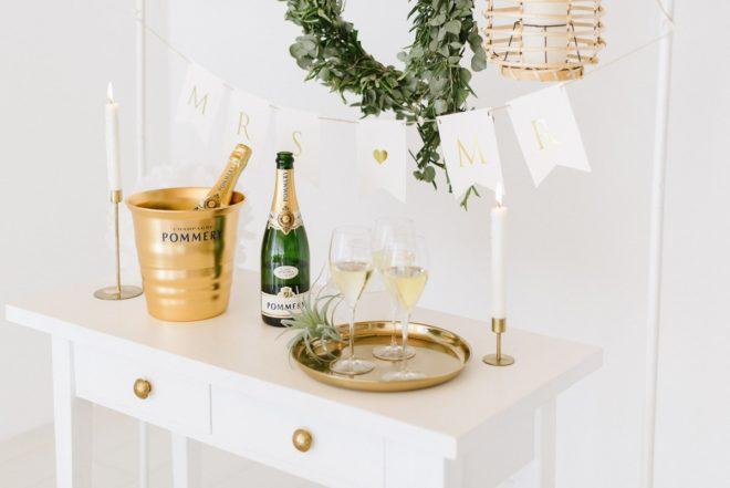 Pommery Champagner Hochzeit