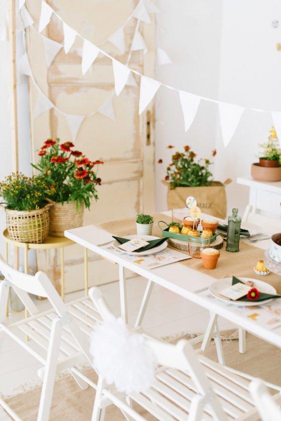 Spiele, Rezepte und DIY-Ideen für den Kindergeburtstag im Garten