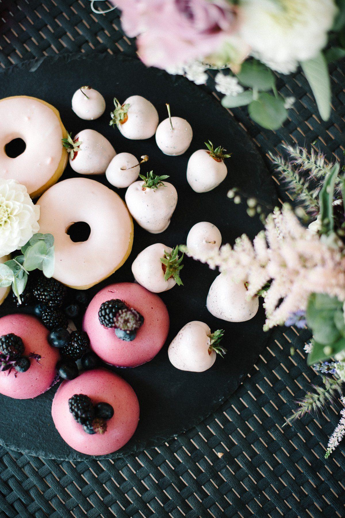 Dessert bei der Hochzeit