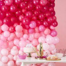 Luftballon Wall