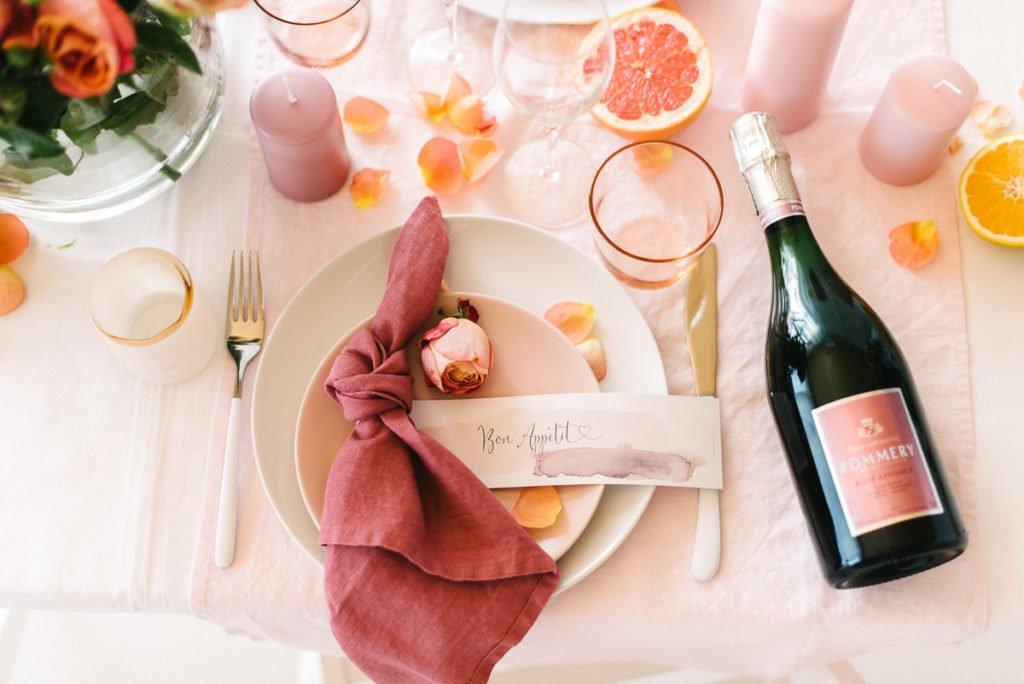 Prickelnder Mädelsnachmittag mit Pommery Champagner Rosé Apanage