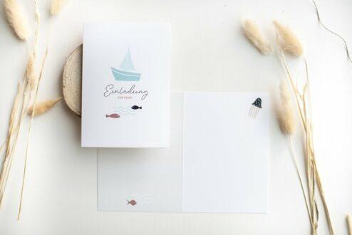 Einladung Taufe Skandi Boot-2