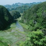Trockene Halongbucht Vietnam