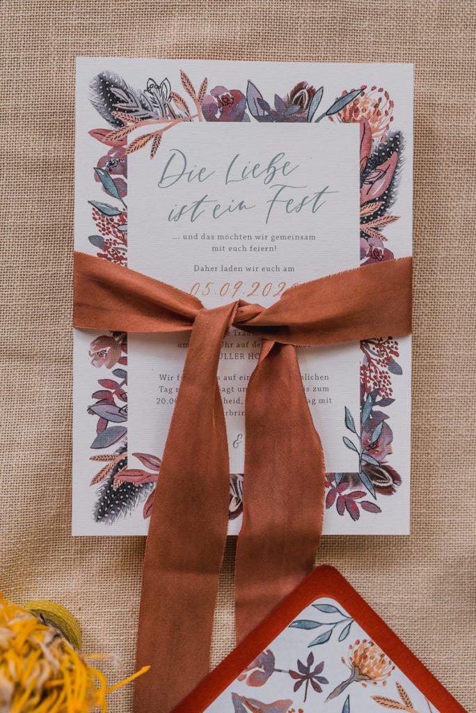 Was kostet eine Hochzeit? III. Einladung und Papeterie