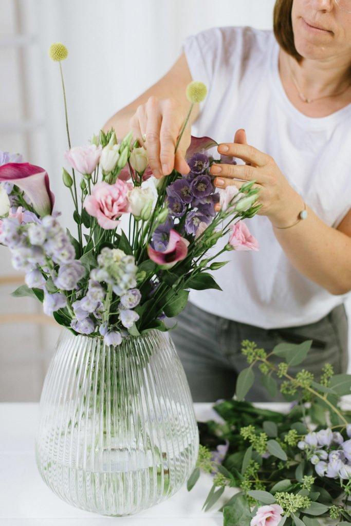 Blumenbund - So arrangierst Du sie in einer Vase
