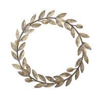 Deko Kranz Gold, Durchmesser 40cm