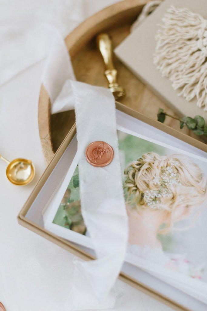 Geschenkverpackung für eure Hochzeitsfotos
