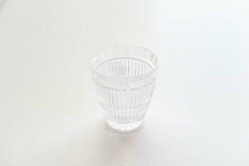 Kerzenglas elegant Klarglas