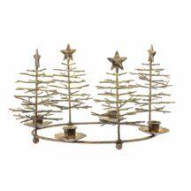 Kerzenhalter Bronze