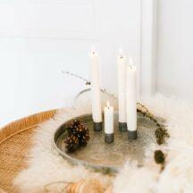 Kerzenhalter Adventsteller magnetisch