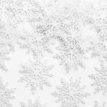 Konfetti Schneeflocke