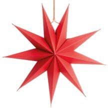 Stern neunzackig rot 28cm