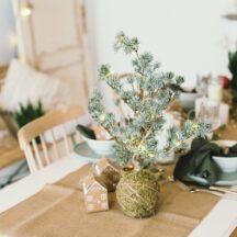 Weihnachtsdeko gemuetlich natuerlich Holz Jute Kraftpapier-81