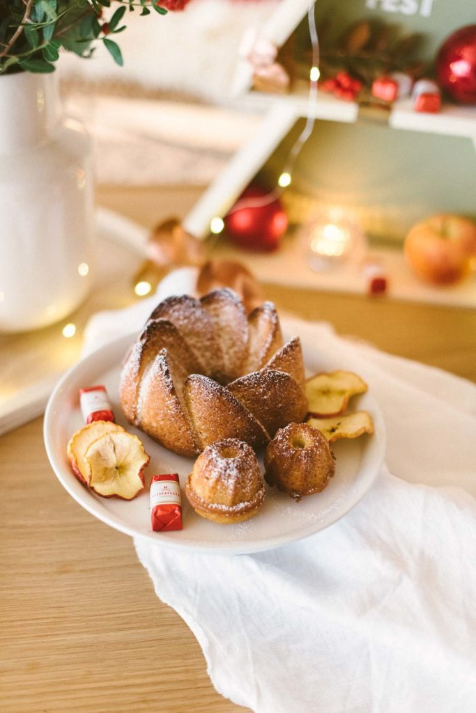 Rezept: Weihnachtlicher Marzipangugel und leckerer Apfelpunsch