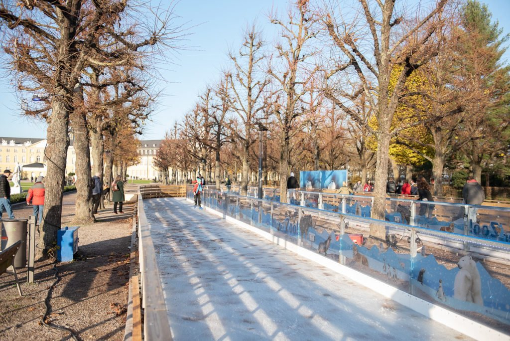 Eiszeit Weihnachtsstadt Karlsruhe