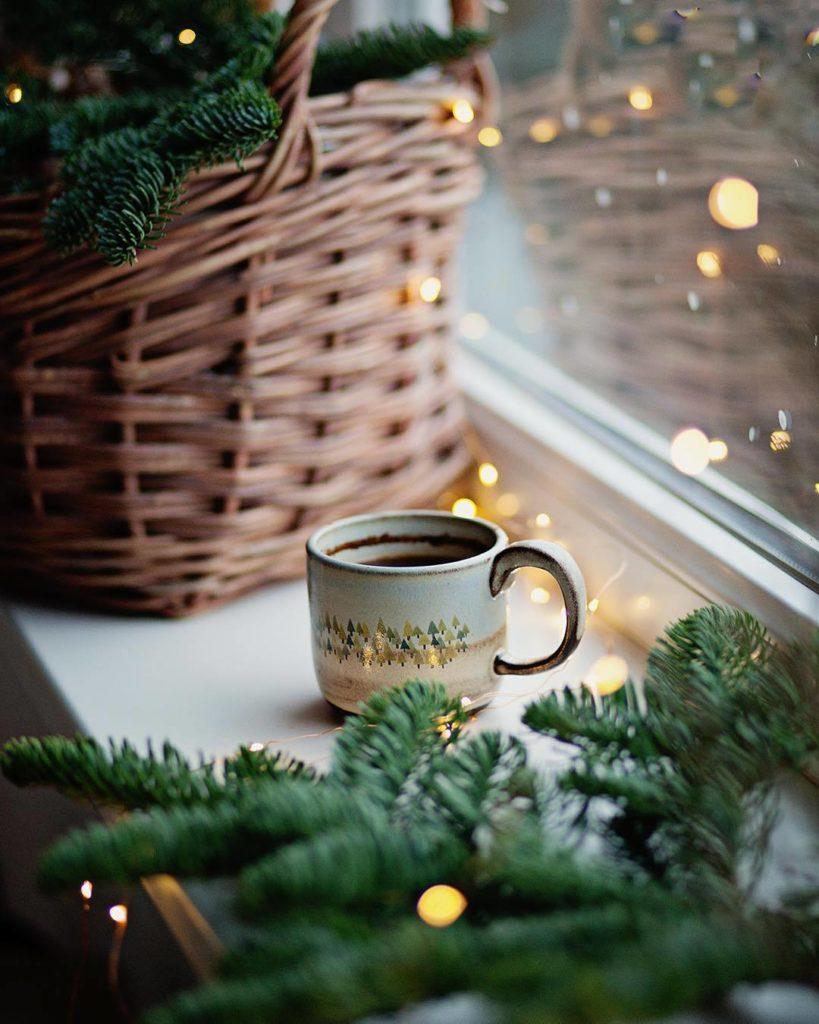 3 Fensterdekorationen für Dezember und Januar