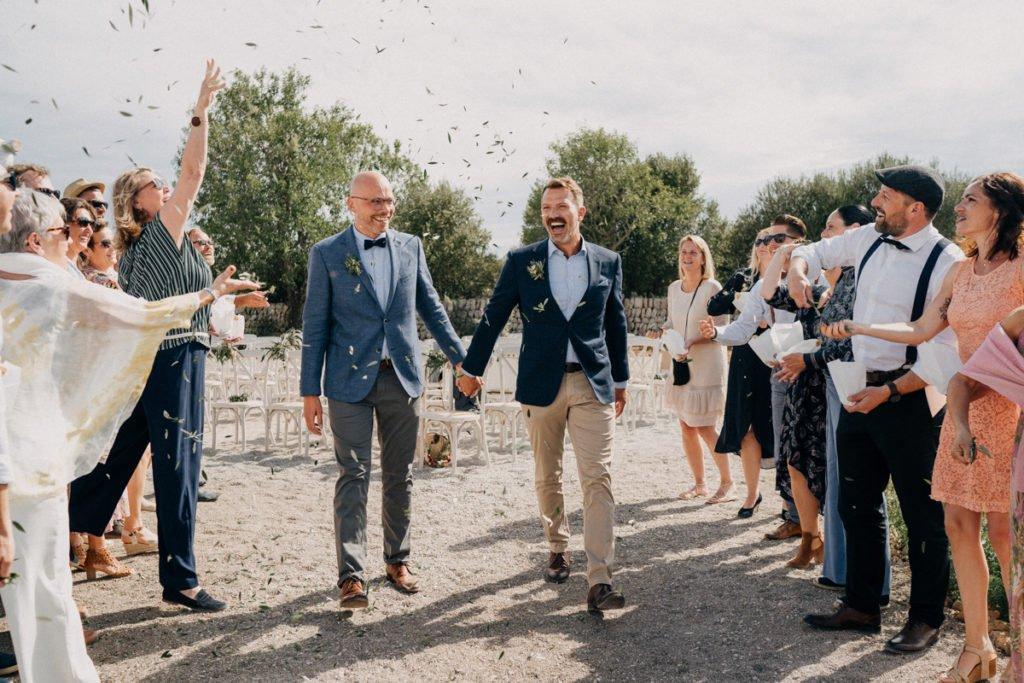Bohemian Chic: Andy und Marko heiraten auf Mallorca