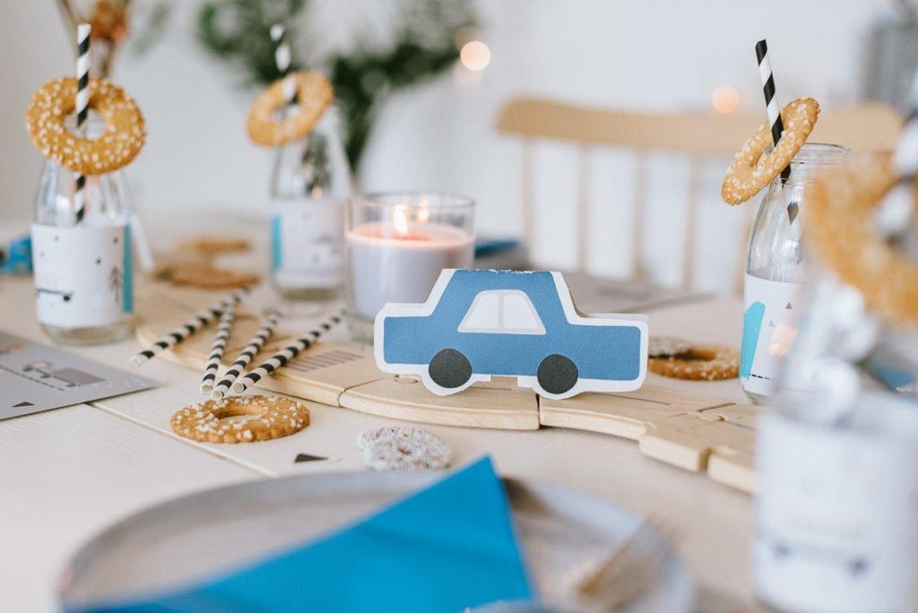 Fahrzeugeparty zum Kindergeburtstag