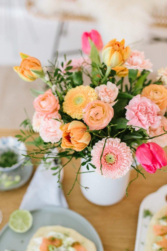 Endlich Frühling: Bunte Blüten und frische Leckereien
