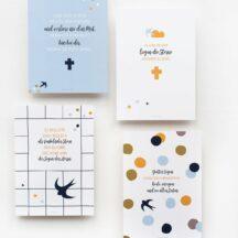 Spruchkarten Bluebird Kommunion