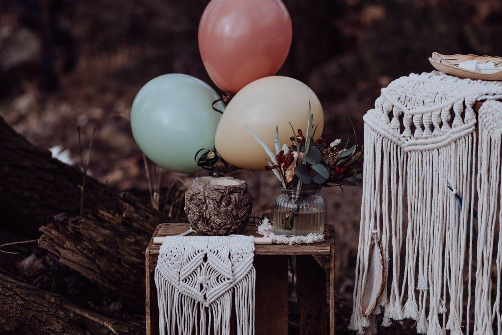 Wir feiern einen Wilder Kindergeburtstag mit Pocahontas-Party und zeigen euch wilde Deko-Inspirationen für eure Pocahontas Geburtstagsparty. #kinder #geburtstag #kindergeburtstag