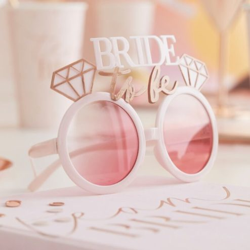 Bride to be Photo booth Brille