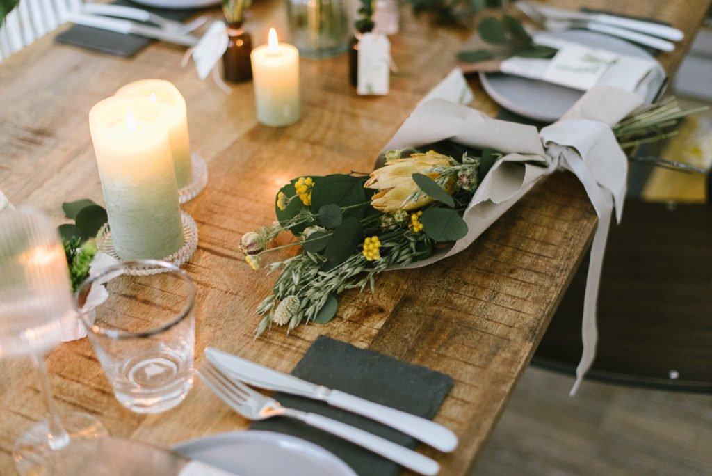 3 einfache Deko-Ideen für die Geburtstagsdekoration mit Trockenblumen