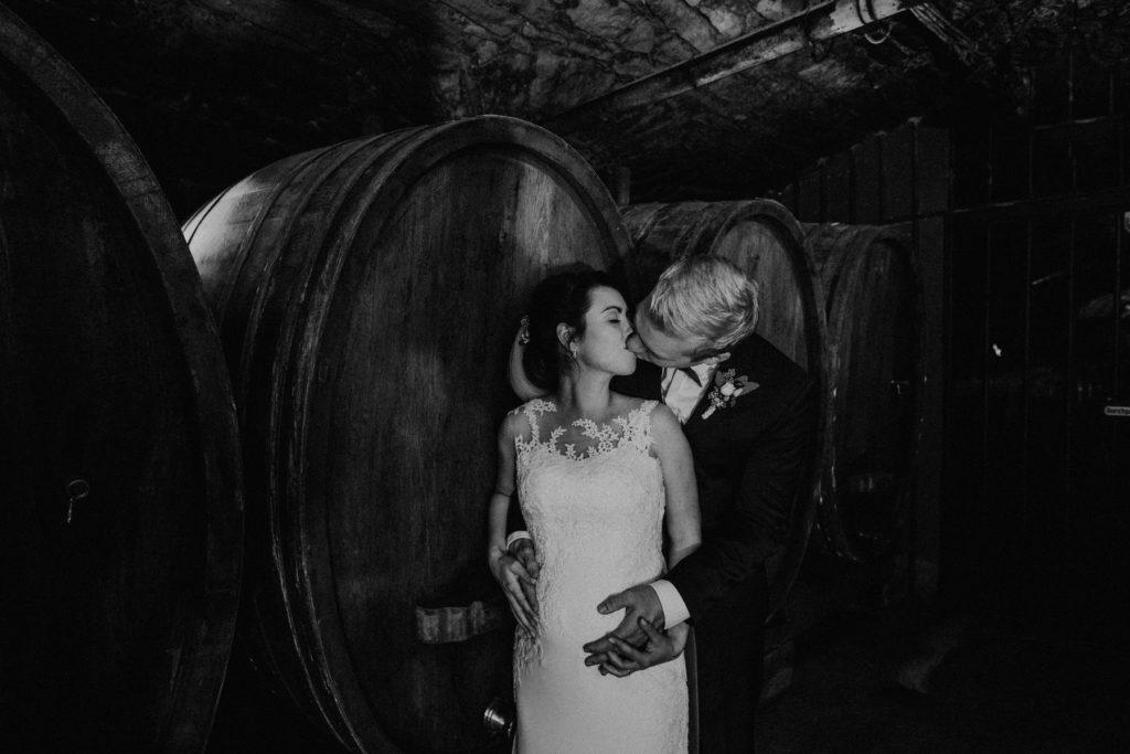 Schwanger heiraten: Kathi und Beni heiraten im Weingut