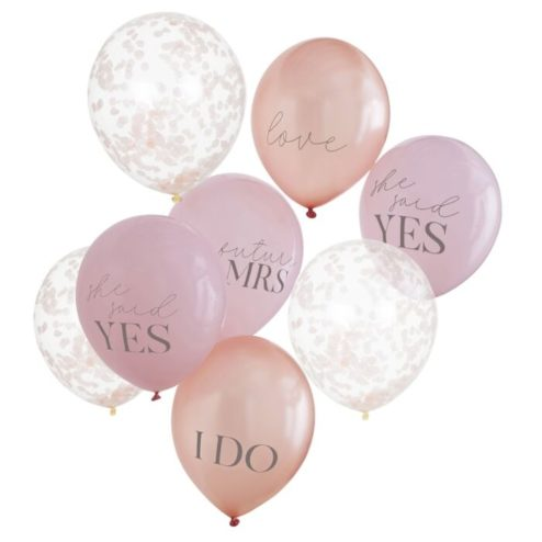 Luftballonbuendel Junggesellinnenabschied