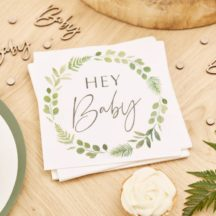 Papierserviette Botanical hey baby