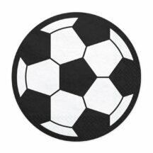 Papierserviette Fußball
