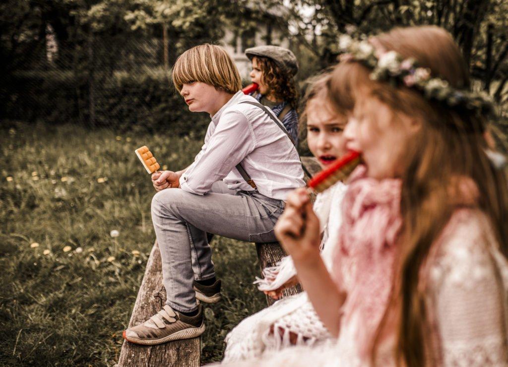 Wie Kinder bei eurer Hochzeit nicht zu kurz kommen?