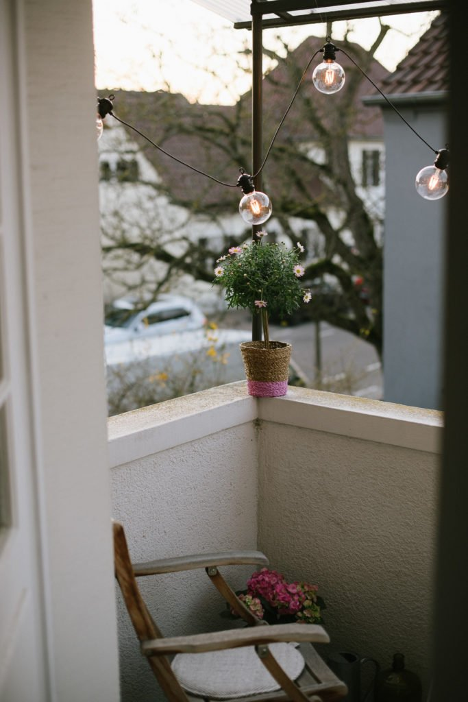 Balkon-Make Over: Balkon fit für den Frühling machen