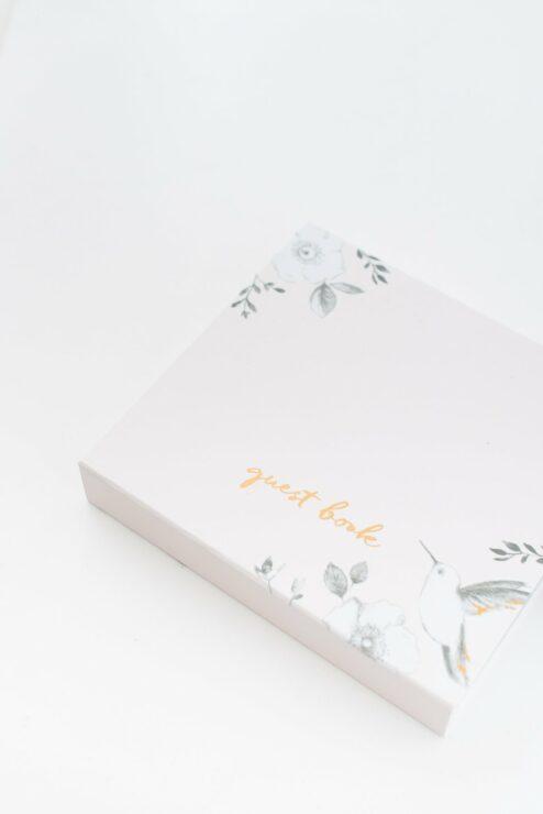 Gästebuch Karten Box Hochzeit