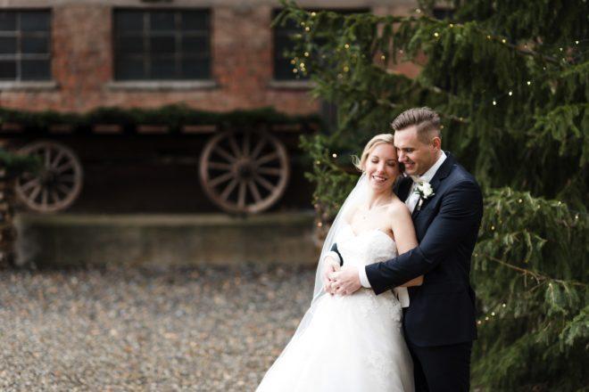 Julia und Andreas heiraten im Winter