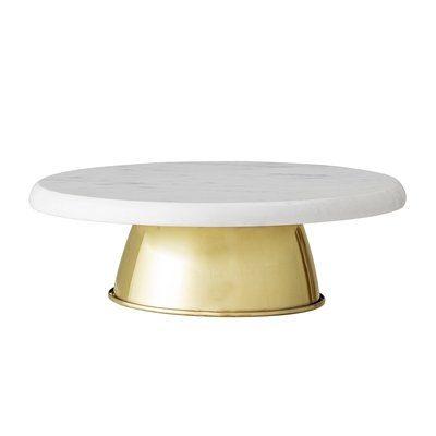Tortenstaender marmor gold