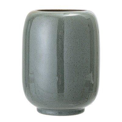 Vase Green Steingut