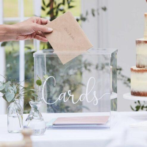 Kartenbox Acryl