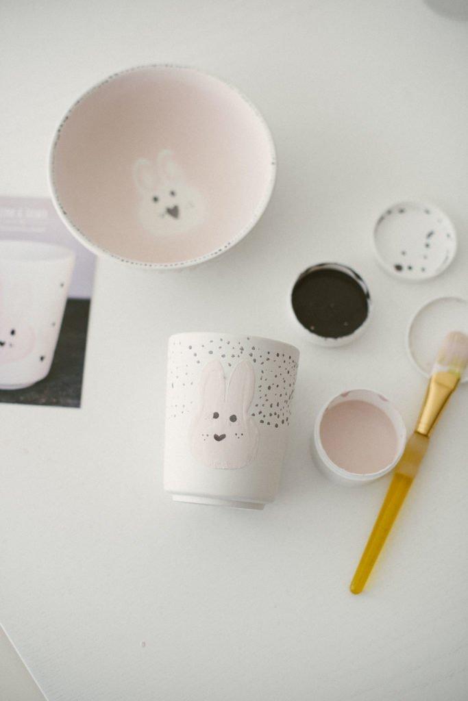 Keramik2Go mit Kindern bemalen