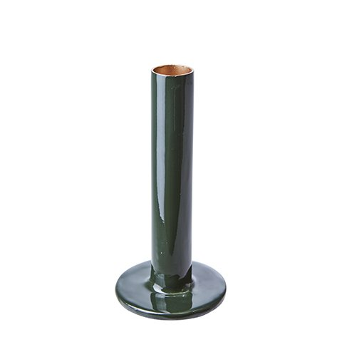 Kerzenhalter River dunkelgrün 15cm