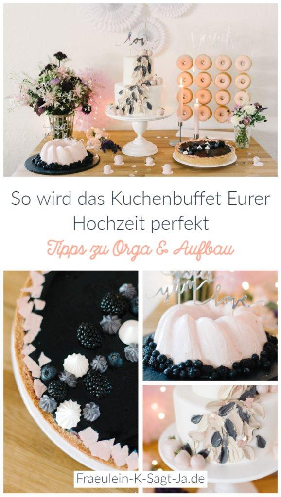 So wird das Kuchenbuffet Eurer Hochzeit perfekt