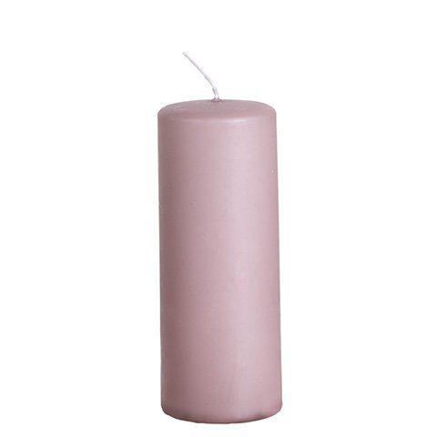 Stumpenkerze purple 15cm
