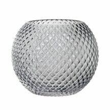 Vase Grey Glas