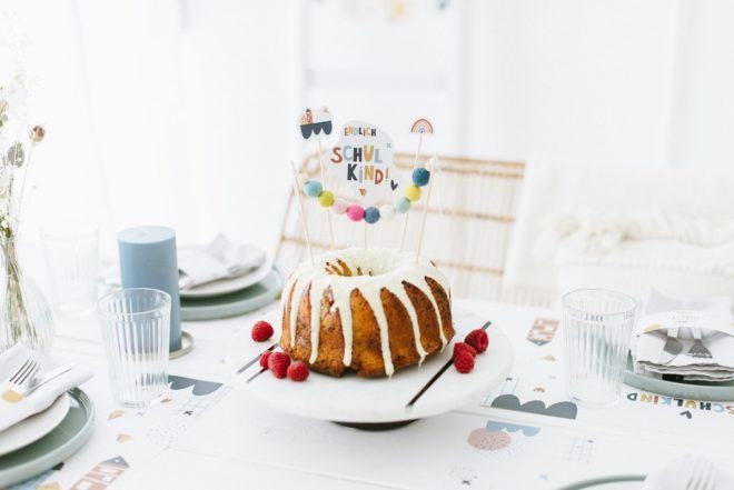 DIY Cake Topper aus Filzperlen