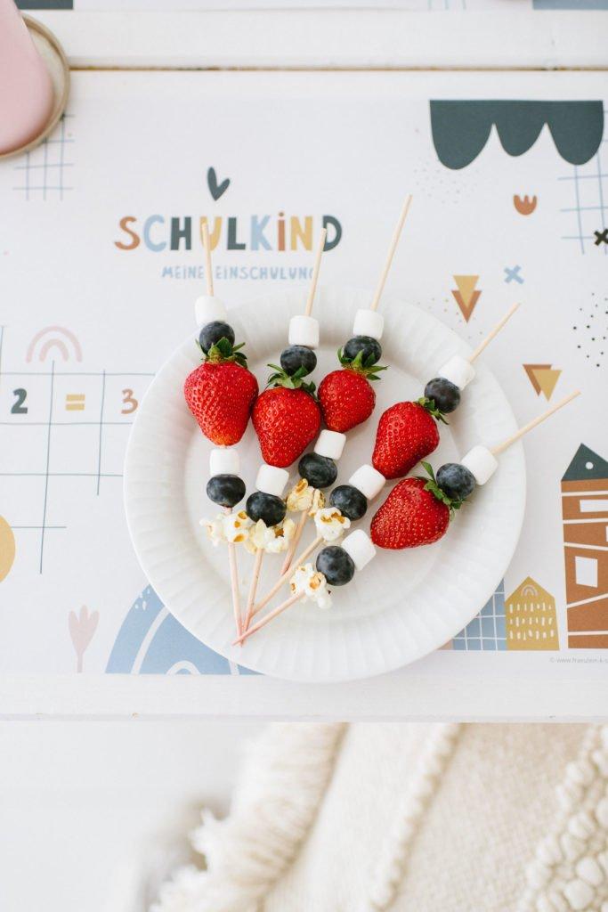 Einschulung dekorieren: Bunte Buchstaben zum Schulanfang