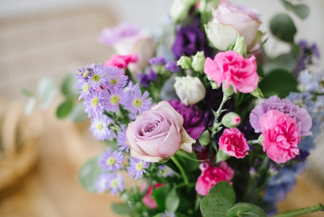 Blumengrüße für die wichtigste Frau im Leben