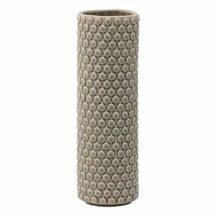Vase Steingut schlank