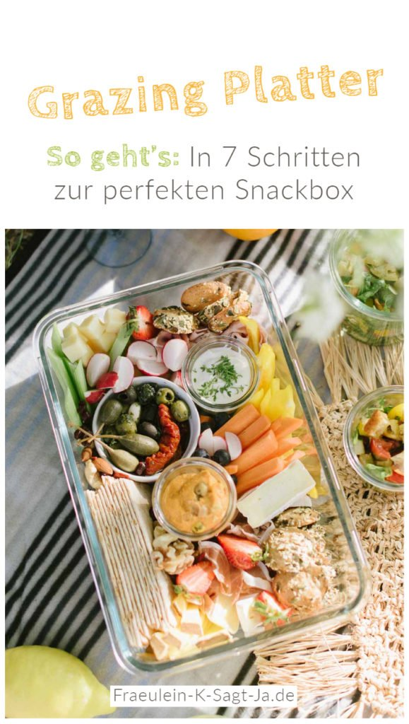 Leckere Snackplatte: So gelingt euch der Food Trend Grazing Platter! Schritt für Schritt - Anleitung: In 7 Schritten zur Snack Platte.