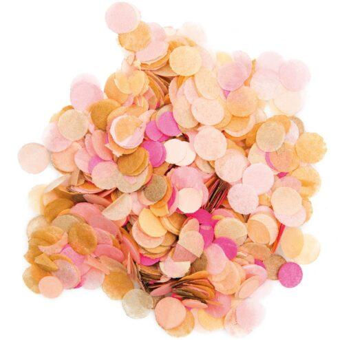 Konfetti blush rosa