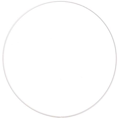 Metallring weiß Ø 30cm